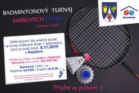 Badmintonový turnaj smíšených dvojic